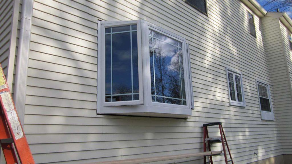Bay Window Installation in Williamstown, NJ - During Job