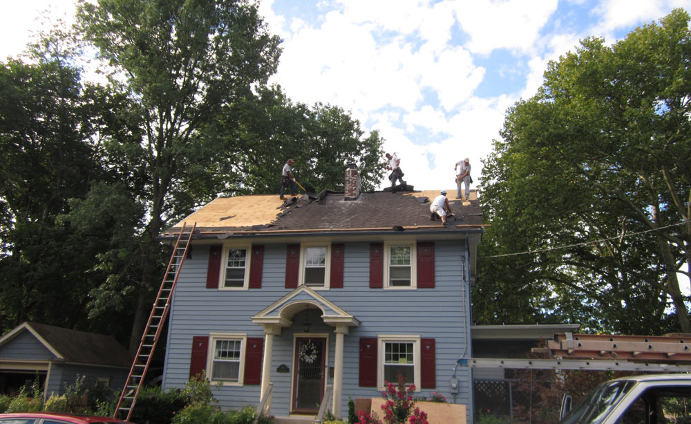 Removing Roof in Voorhees, NJ